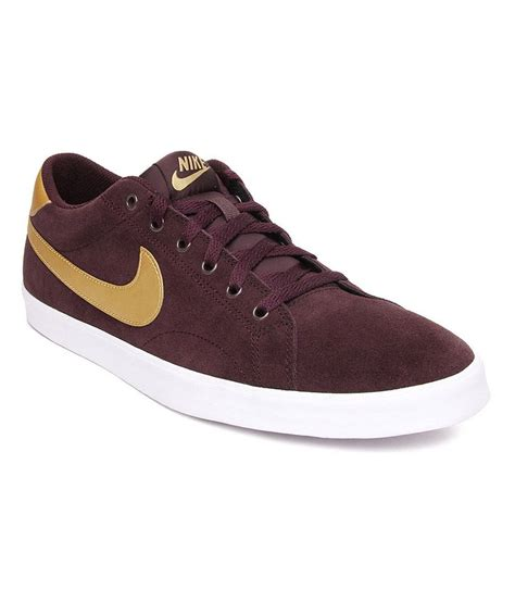 nike maroon running shoes nike maroon smart casuals shoes price in india buy nike
