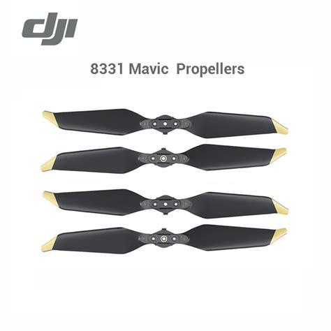 Mavic Pro Platinum Propellers Gold gold mavic pro platinum 8331 propeller for dji mavic pro propellers dji original accessories low