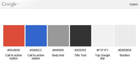 google design guidelines color what we can learn from google s new ui