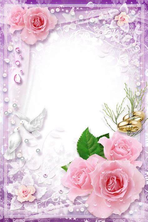 Wedding Background Frame Psd by 19 Best Frames Images On Floral Border Border