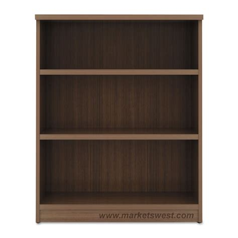 alera 3 shelf laminate bookcase