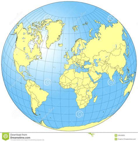 the entire world whole world globe royalty free stock photo image 29540805