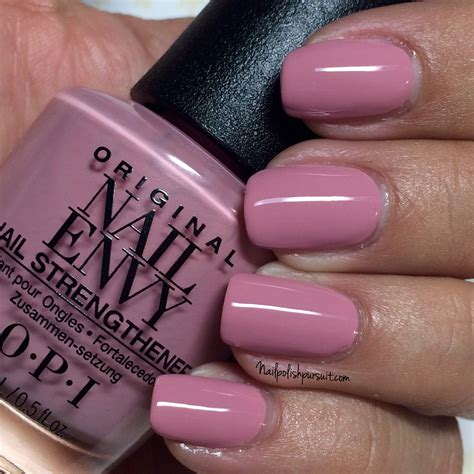 Opi Hawaian Orchid by Opi Nail Envy Strength In Color Collection Hawaiian