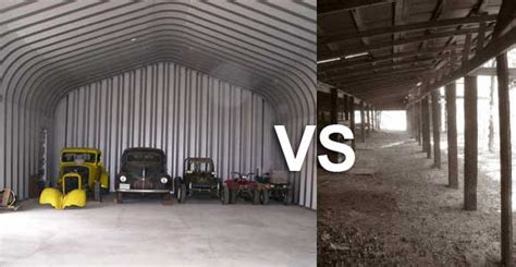 pole barn or steel barn which is better future buildings