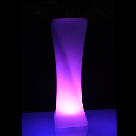led flower floor l led floor vase plastic planter led flower pot 100