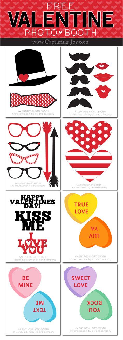 free printable valentine s day photo booth props valentine s photo booth props capturing joy with kristen