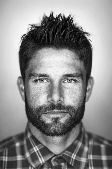 haircut for hawk nose men faux hawk hairstyles for men 40 fashionable fohawks