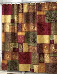 Cabin Shower Curtains Adirondack Pine Shower Curtain Lodge Cabin Decor Fabric Shower Curtain Ebay