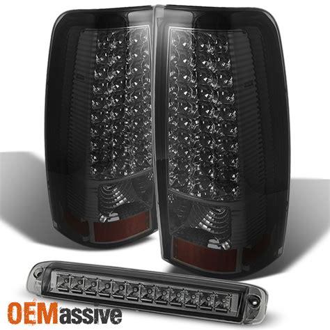 04 gmc lights 03 06 chevy silverado gmc led smoked lights