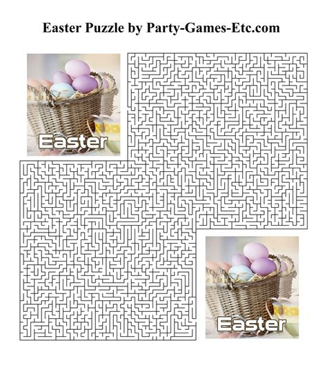 printable paper games for adults free printable easter activities