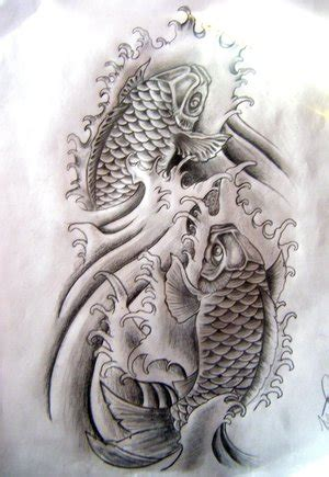 koi fish black and white tattoo designs wedding hairstyles 25 dazzling koi fish black and