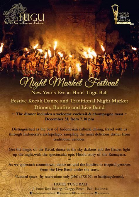 new year market market festival new year at hotel tugu bali