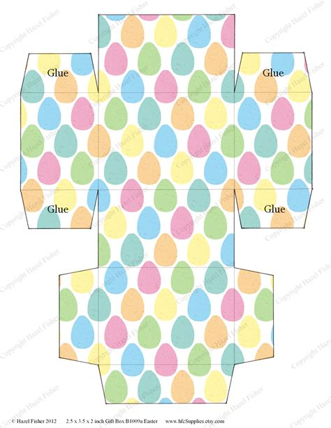 easter box templates free template easter box template