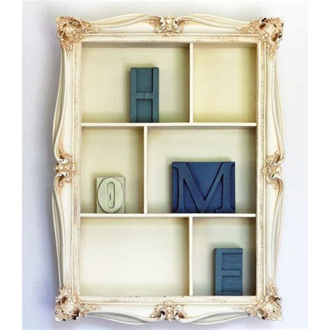 picture frame shelf wallflowers
