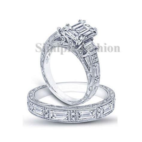 get cheap princess cut antique engagement rings