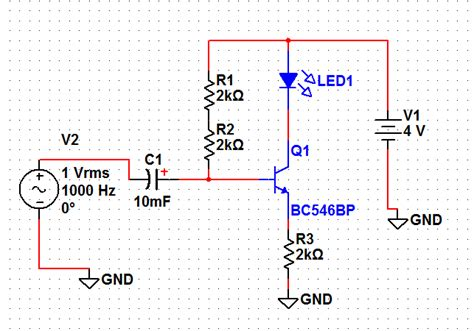capacitor led flasher capacitor how do i make this led flasher more sensitive electrical engineering stack exchange