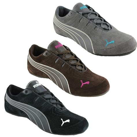 comfortable sneakers for women puma etoile suede 2 womens ladies comfortable casual shoes fashion sneakers ebay