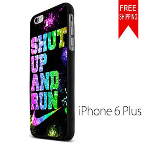 Iphone 6 6s Plus Nike Just Do It Royal Blue Hardcase shut up and run nike glitter iphone 6 from iphone shop free
