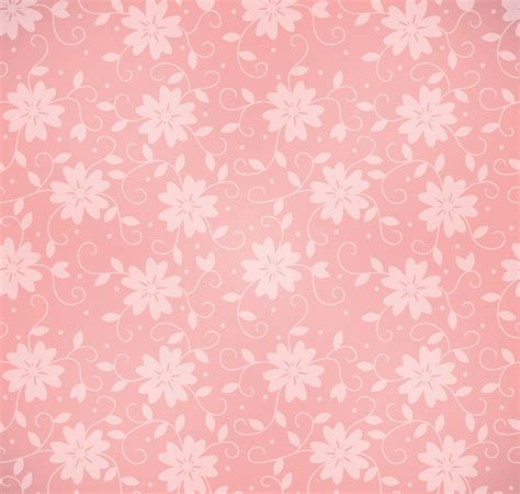light pink floral pattern