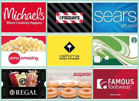 Fridays Gift Card Checker - gift card savings on ebay sears regal michaels amc krispy kreme tgi fridays and