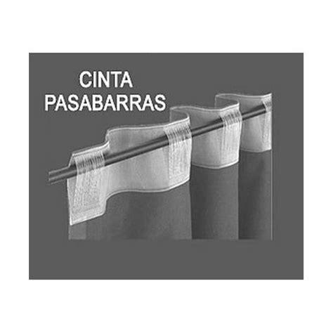 cintas de cortinas cintas pasabarras para cortinas la dama decoraci 243 n