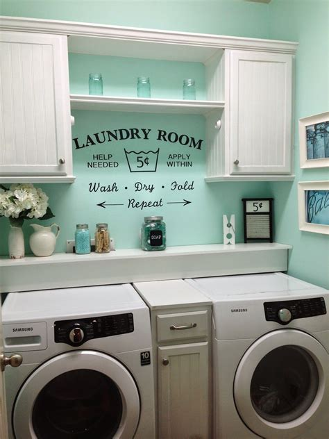 The Case To Paint Your Whole House Mint Green Green Laundry