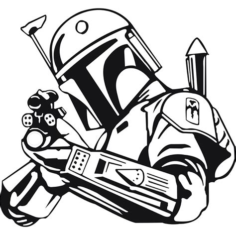 Bobba Black Alive Arts image result for boba fett decal elijah zane boba fett cricut and crochet