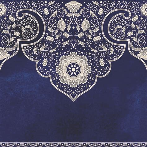 decorative ornaments blue decorative ornaments russian style vector free vector