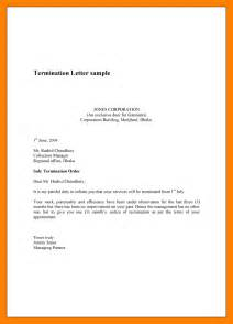 9 simple termination letter janitor resume