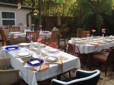 60th birthday dinner ideas s 60th birthday outdoor dinner bday ideas