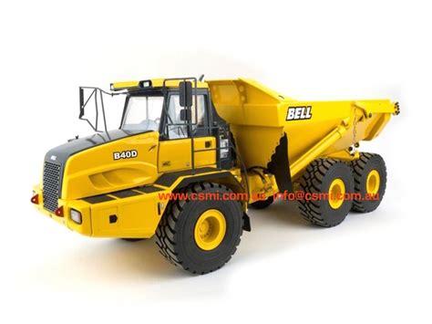 bell b40d dump truck rtr