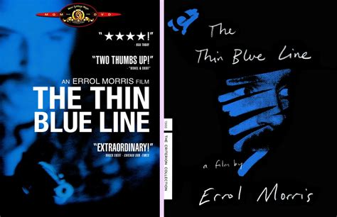 Dvd Original The Thin Line Region 2 dvd exotica the thin blue line makes a leap into the criterion collection dvd