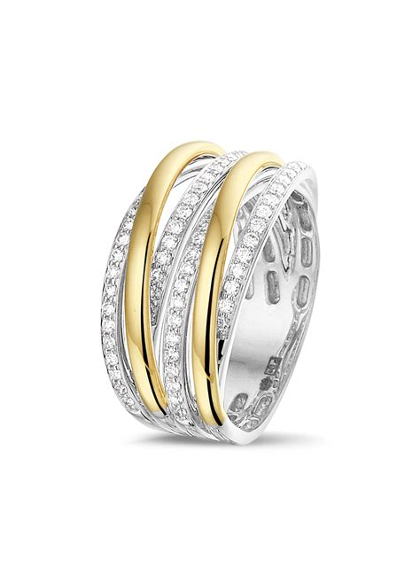Bicolor Ring by Bicolor Ring Diamant Edelsmid Juwelier Le Blanc