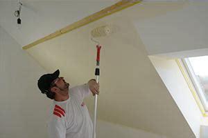 streichen w 228 nde und decken gestalten anleitung tipps - Dachschräge Streichen