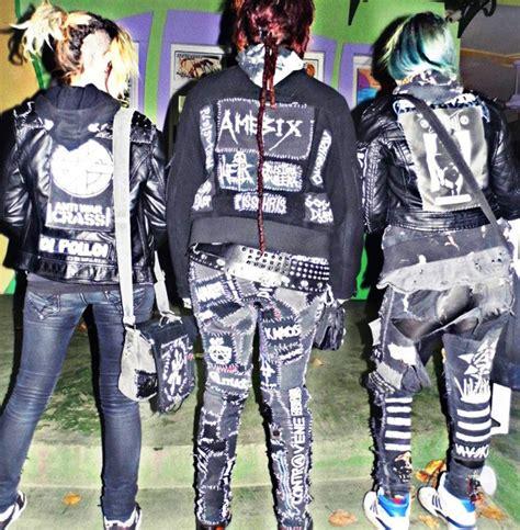 Emblem Patch Punkrock Onewaysystem denim vest patches www pixshark images galleries with a bite