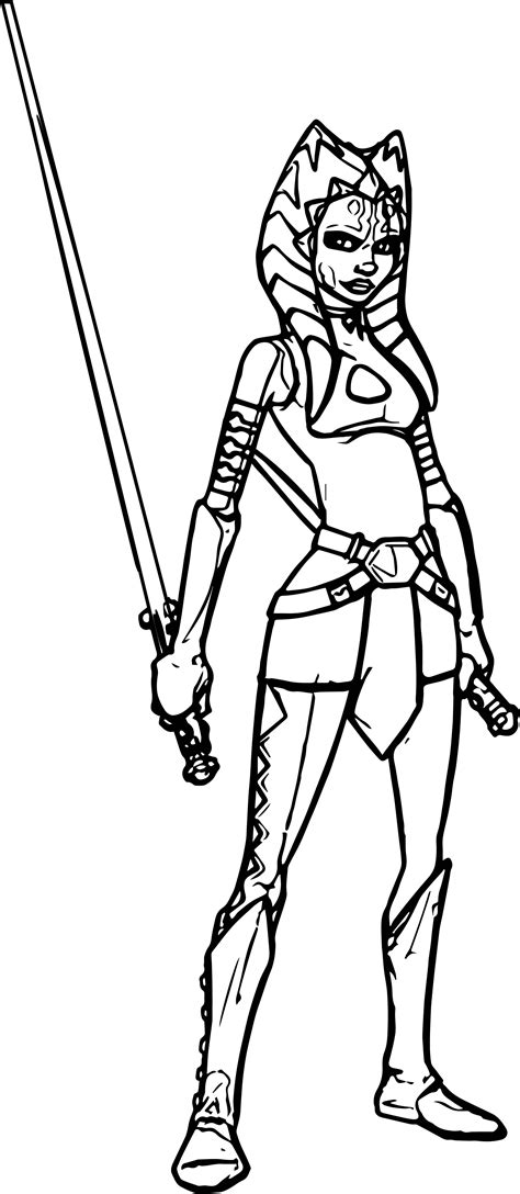 ahsoka coloring pages coloring pages ideas reviews