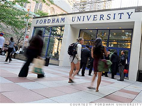 Fordham Mba Part Time Tuition by College Fordham Colleges