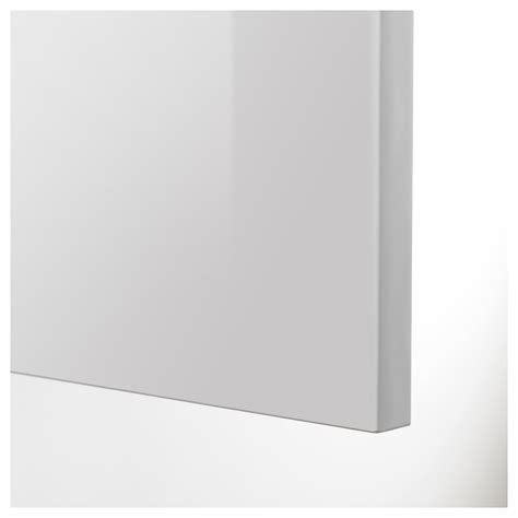 ikea high gloss kitchen cabinet doors ringhult drawer front high gloss light grey 40x20 cm ikea