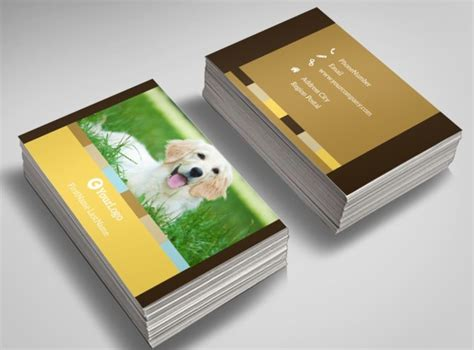 shelter template card animal shelter pet adoption business card template