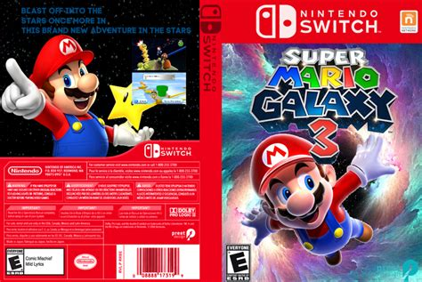 fan made mario games super mario galaxy 3 box art fanmade by giapetyoutube on