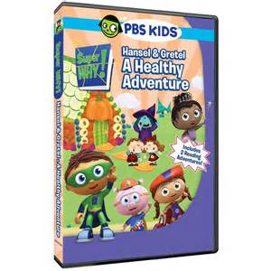 Pbs kids super why hansel and gretel a healthy adventure