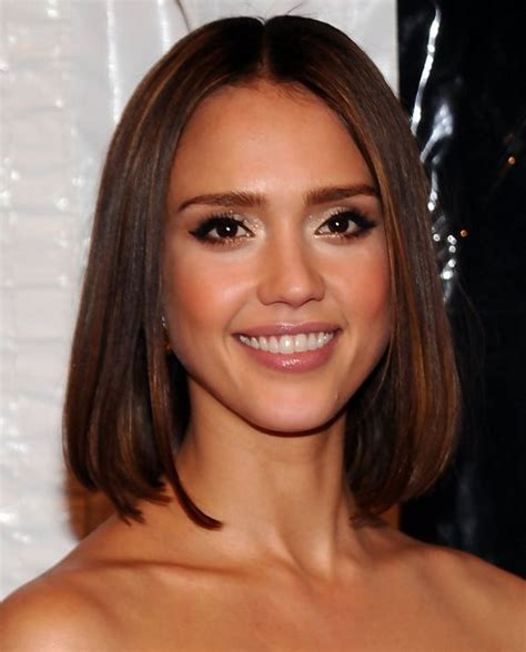 bob haircut jessica alba jessica alba hairstyles straight long bob popular haircuts