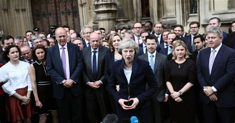 who will be in theresa may s new cabinet contenders to