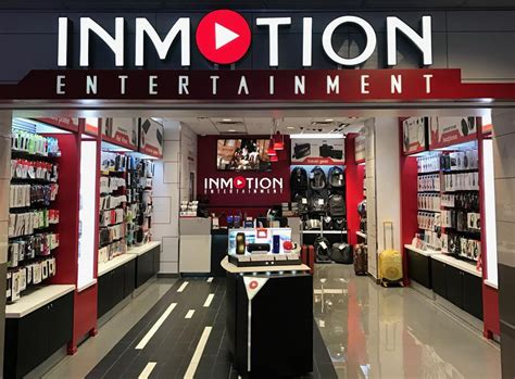 inmotion electronic headphones stores  usa airports