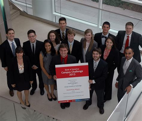 Heller Mba Ranking by Tech Team Wins Bank Of America Cus Challenge Tech