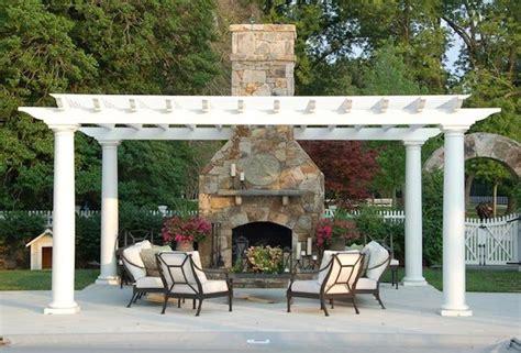installing an outdoor fireplace viva la fireplace bob
