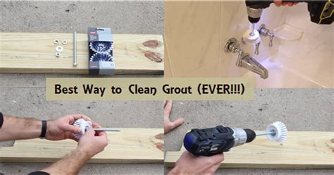Best Way To Clean A by Diy Build A Grout Busting Drill The Best Way To