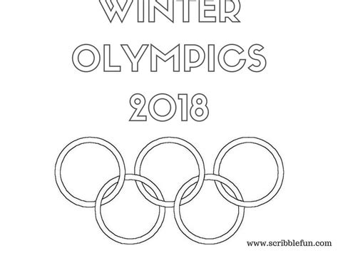 olympic color free printable winter olympics coloring pages