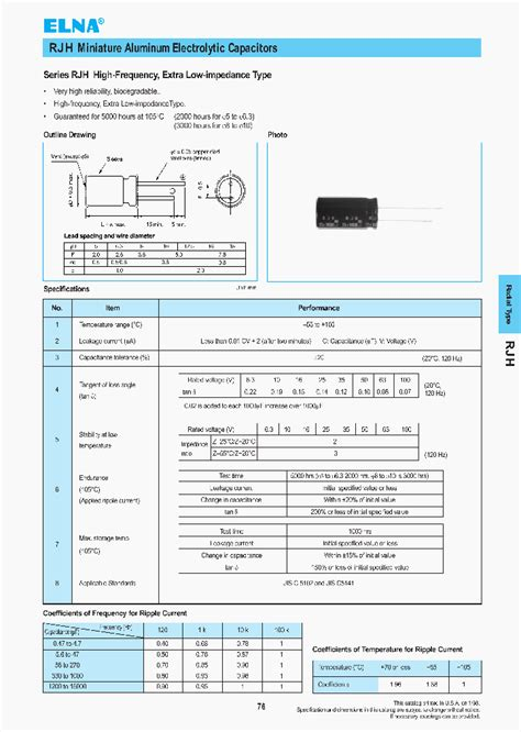 1000uf 50v capacitor datasheet 0569006612mj9 2089663 pdf datasheet ic on line