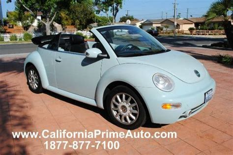 baby blue volkswagen beetle 2004 volkswagen new beetle convertible cars trucks autos